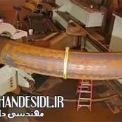 مستند خمکاری لوله های عظیم فولادی