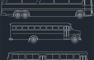دانلود بلوک های آماده اتوبوس در اتوکد