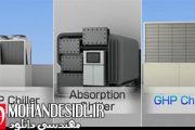 ویدیو مقایسه بین GHP و EHP و چیلر جذبی
