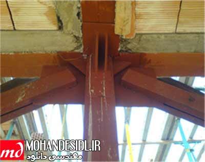 جزئیات اجرایی ساختمان فولادی - پروژه روش های اجرا