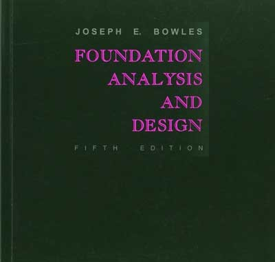 دانلود کتاب مهندسی پی Bowles Foundation Analysis And Design 5th-McGraw-Hill