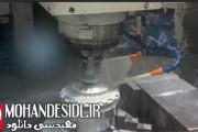کلیپ ساخت چرخدنده با ماشین فرز cnc