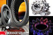 پاورپوینت انواع چرخ دنده ها و روشهای تولید آن ها