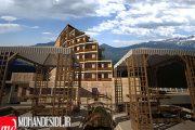 پروژه طرح معماری نقشه های کامل هتل 4 ستاره به همراه تصاویر سه بعدی