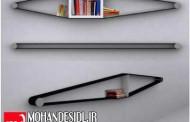 طراحی کتابخانه به شیوه نوین و مدرن