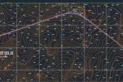 رسم پلان مسیر راه و طراحی قوس های افقی در نرم افزار Civil3D