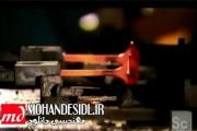 ویدیو ساخت پره توربین به روش فورج