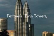 پاورپوینت برج های دو قلوی پتروناس در کوالالامپور