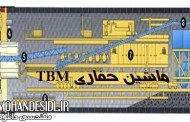 انیمیشن کامل حفاری تونل به روش ماشین TBM