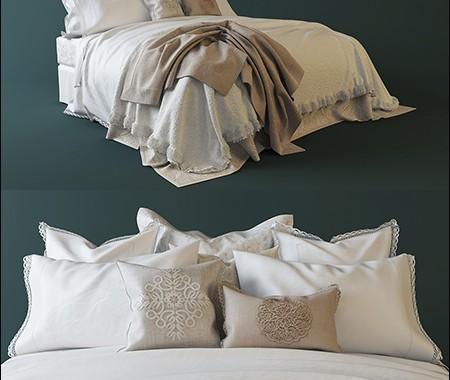 فایل سه بعدی تختخواب زارا - 3ds Max